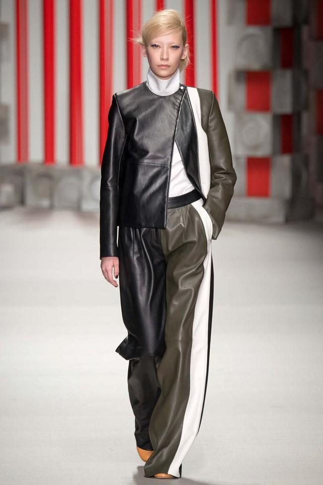 Широкие брюки осень-зима 2015-2016 Eudon Choi