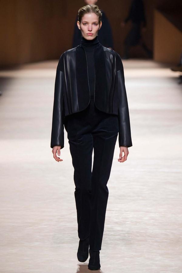 Кожаные куртки осень-зима 2015-2016: Hermès