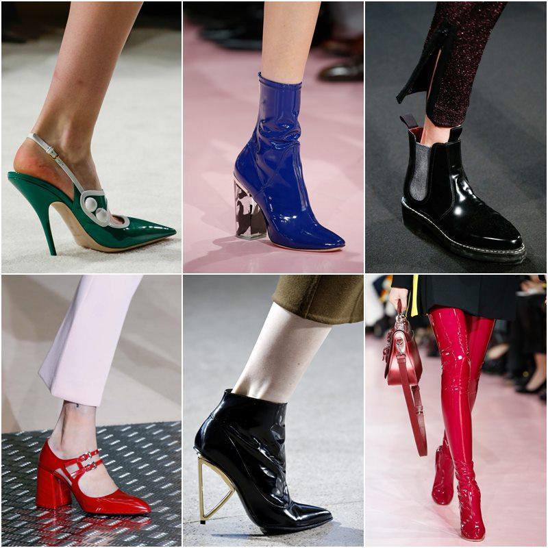 Лакированная обувь осень-зима 2015-2016
