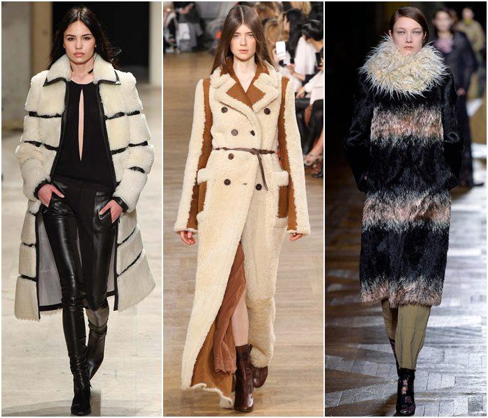 Меховые пальто осень-зима 2015-2016-1