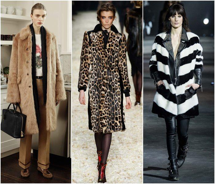 Меховые пальто осень-зима 2015-2016-3