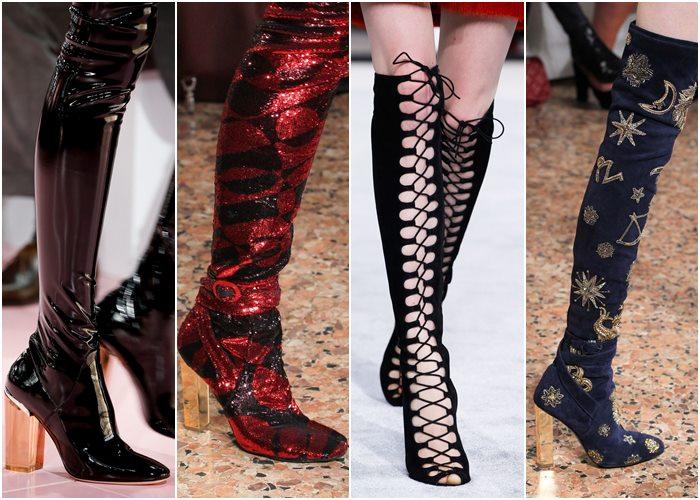 Модные сапоги осень-зима 2015-2016 - фото новинок