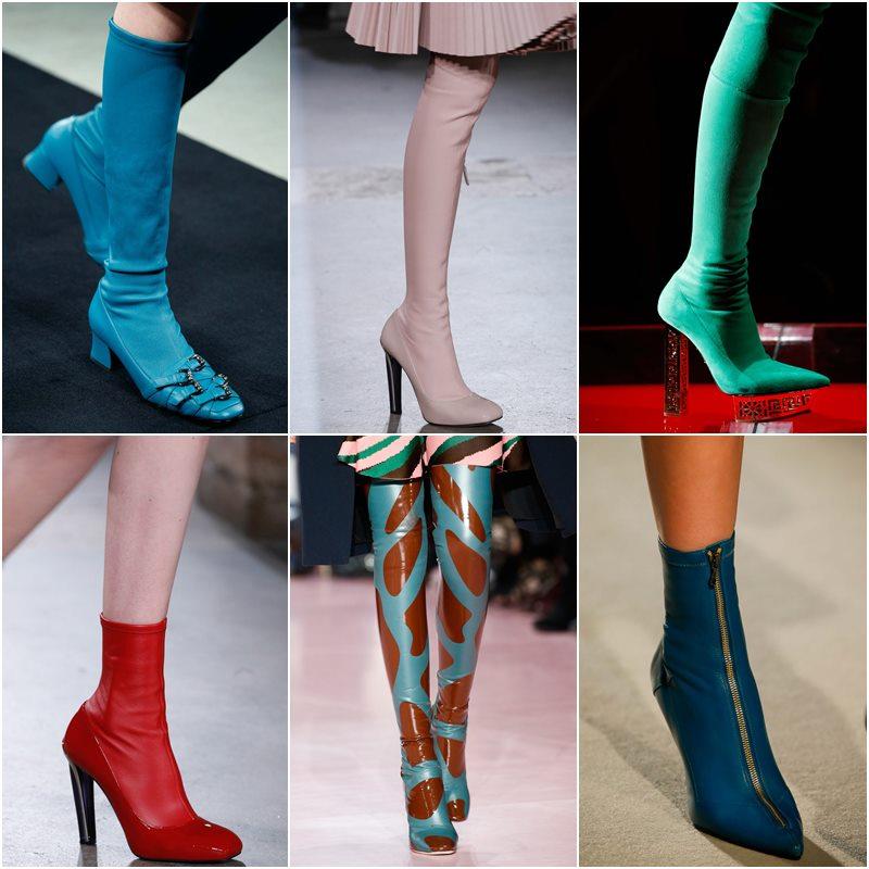 Облегающая обувь осень-зима 2015-2016