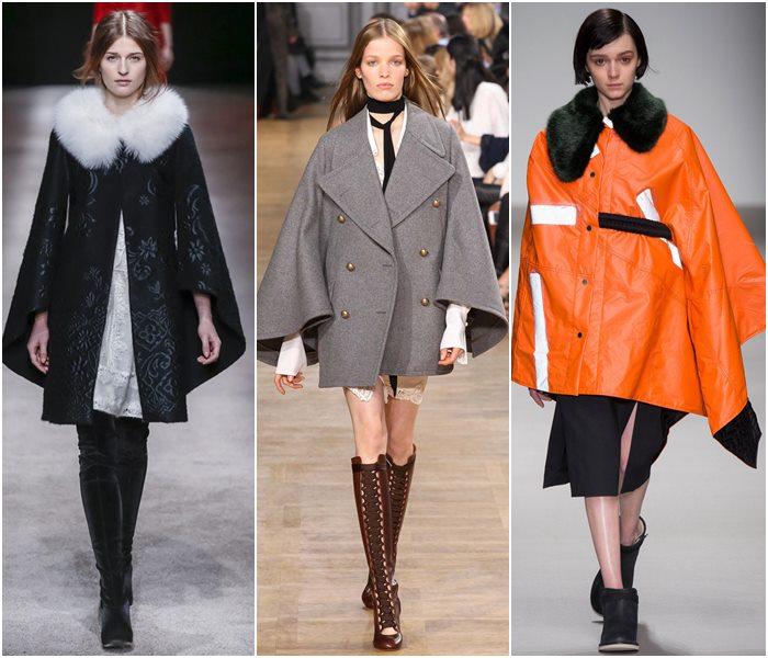 Пальто-кейпы осень-зима 2015-2016-1
