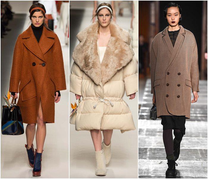 Пальто oversize осень-зима 2015-2016-2