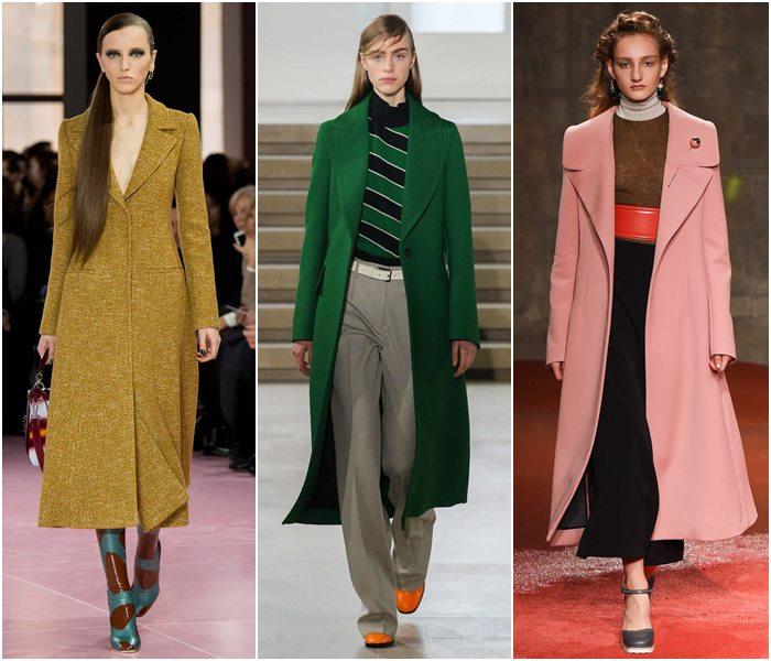 Пальто в стиле минимализм осень-зима 2015-2016-1