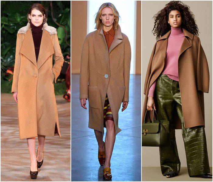 Пальто в стиле минимализм осень-зима 2015-2016-2