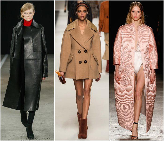 Пальто жесткого силуэта осень-зима 2015-2016-1
