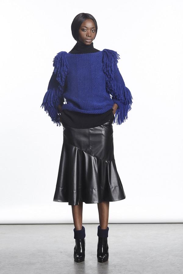 Кожаные юбки осень-зима 2015-2016: Rachel Comey