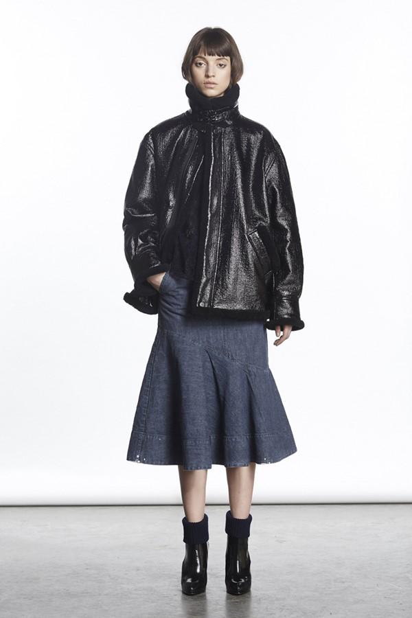 Кожаные куртки осень-зима 2015-2016: Rachel Comey
