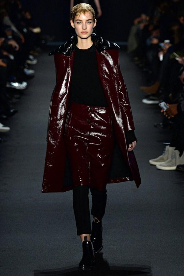 Кожаные пальто и плащи осень-зима 2015-2016: Rag & Bone