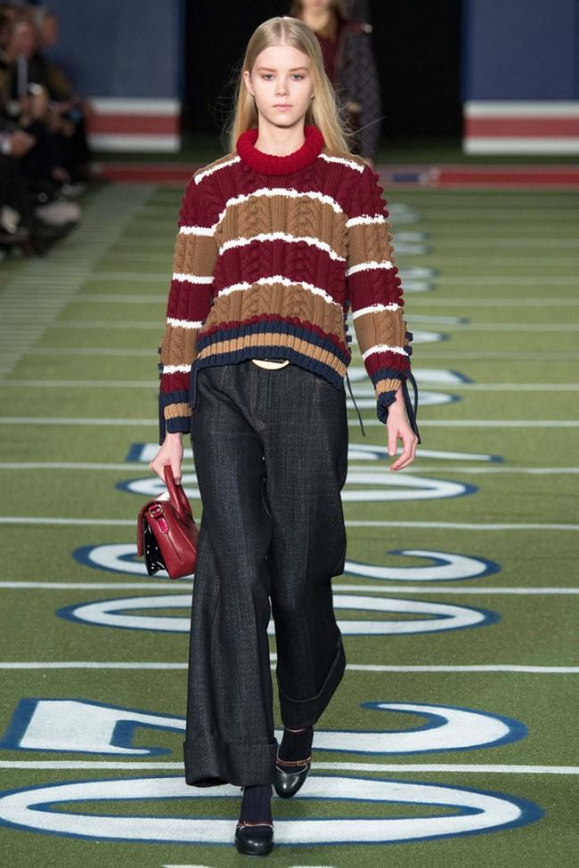 Широкие брюки осень-зима 2015-2016 Tommy Hilfiger