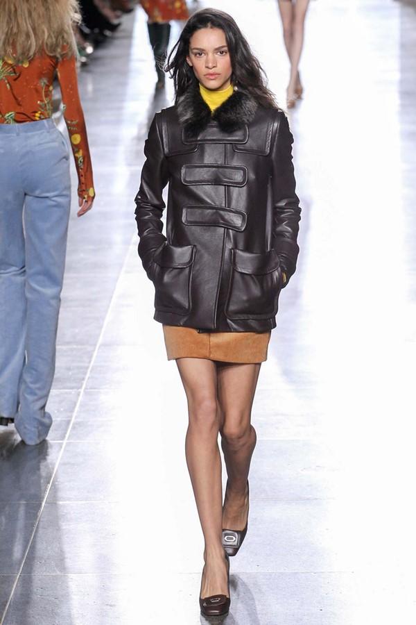 Кожаные куртки осень-зима 2015-2016: Topshop Unique