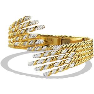 Золотые браслеты с бриллиантами 2015  (11)