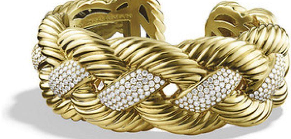 Золотые браслеты с бриллиантами 2015