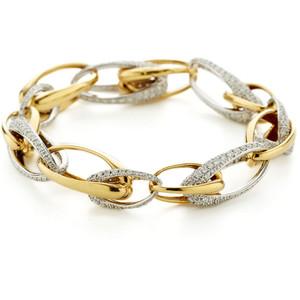 Золотые браслеты с бриллиантами 2015  (15)