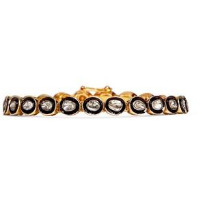 Золотые браслеты с бриллиантами 2015  (2)