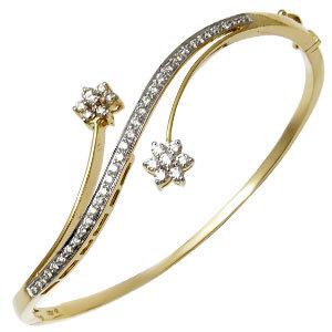 Золотые браслеты с бриллиантами 2015  (24)