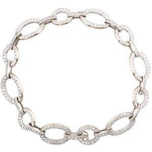 Золотые браслеты с бриллиантами 2015  (8)