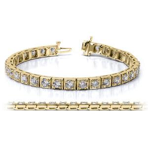 Золотые браслеты с бриллиантами 2015  (9)