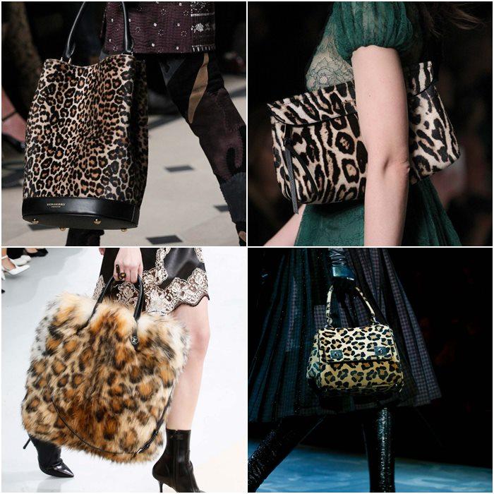леопардовые сумки осень зима 2015-2016
