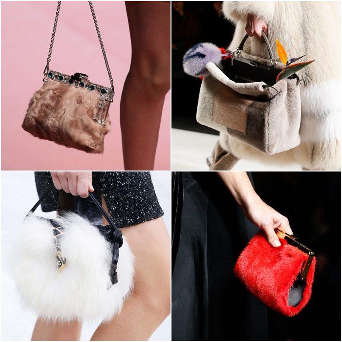 меховые сумки осень-зима 2015-2016