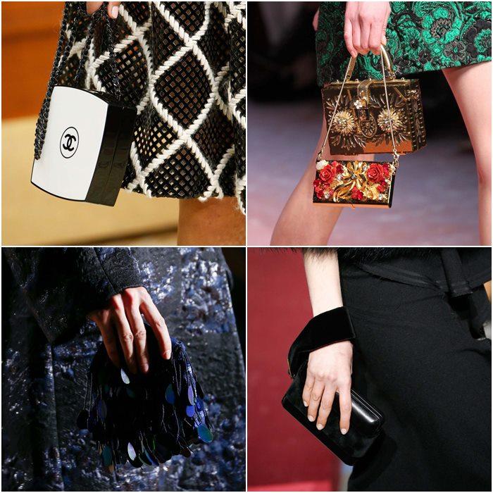 миниатюрные сумочки осень-зима 2015-2016