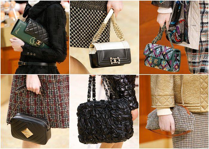 сумки Chanel осень-зима 2015-2016