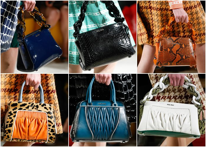 сумки Miu Miu осень-зима 2015-2016