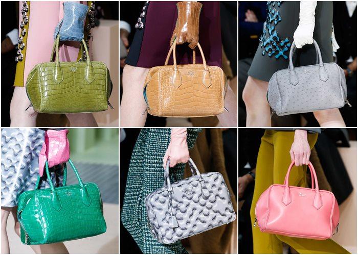 сумки Prada осень-зима 2015-2016