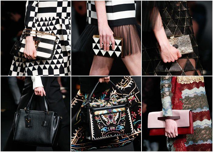 сумки Valentino осень-зима 2015-2016