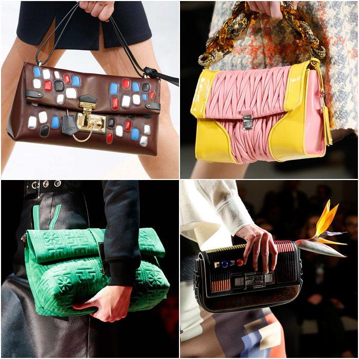 сумки багеты осень зима 2015-2016