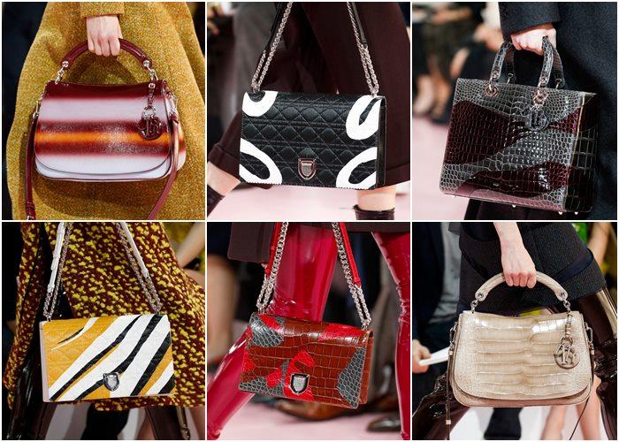 сумки christian dior осень-зима 2015-2016