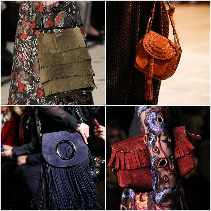 сумки с бахромой осень зима 2015-2016