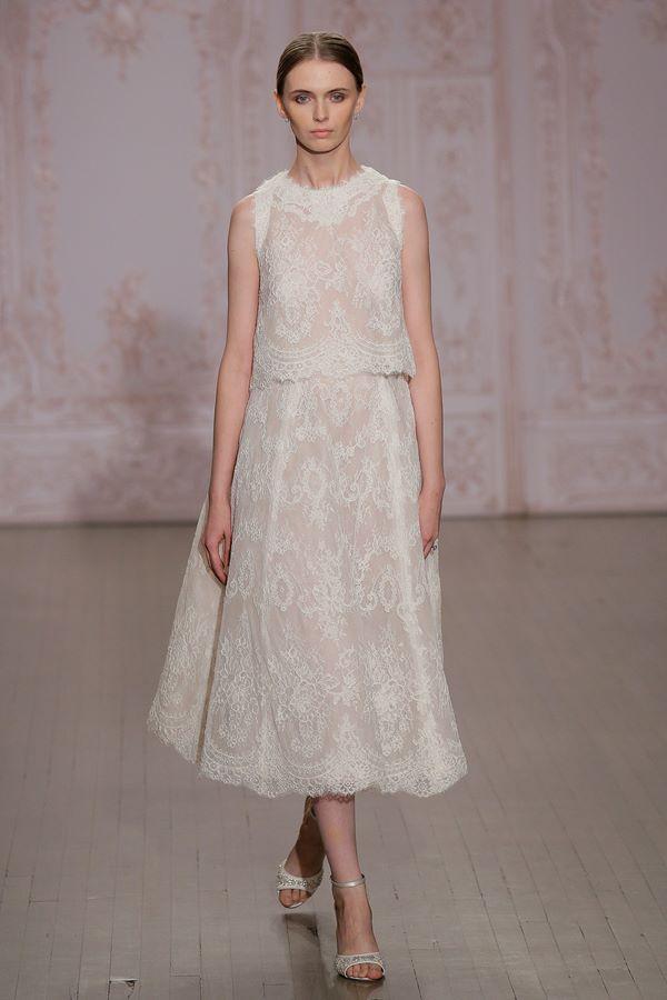 Кружевные свадебные платья 2015-2016 Monique Lhuillier