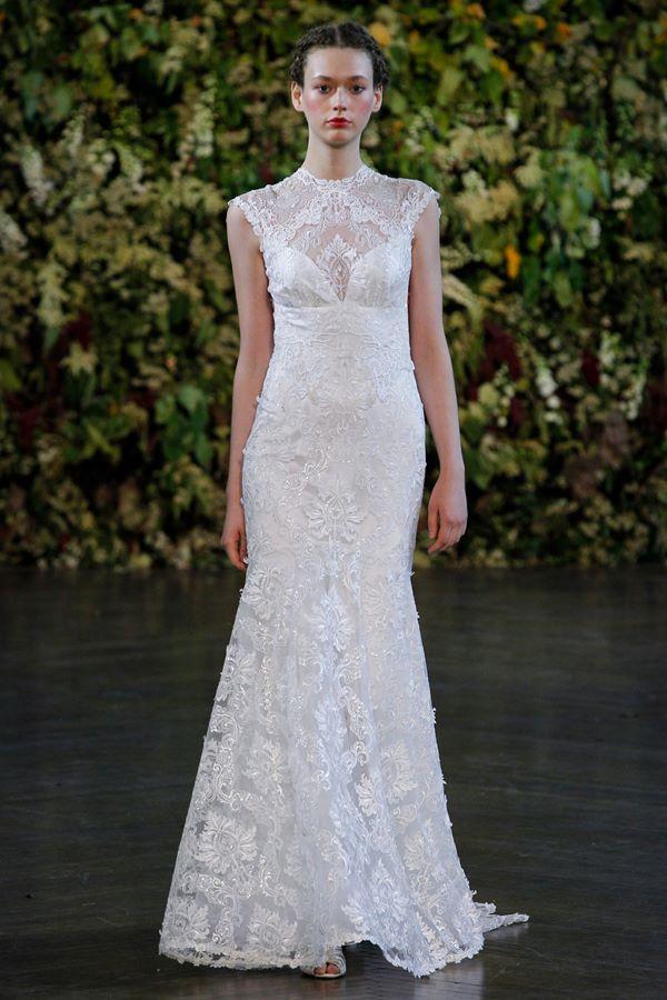 Кружевные свадебные платья 2015-2016 Claire Pettibone