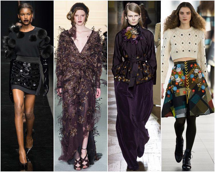 Мода осень-зима 2015-2016: 3d-декор