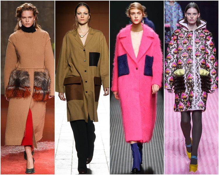 Мода осень-зима 2015-2016: акцент на накладные карманы