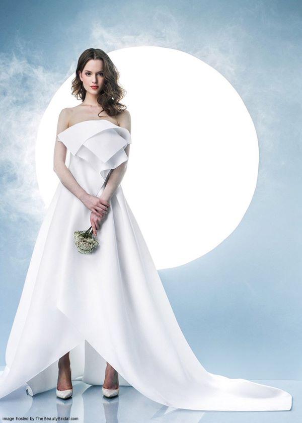 Свадебные платья хай-лоу 2015-2016 Angel Sanchez