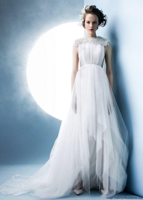 Свадебные платья в греческом стиле 2015-2016 Angel Sanchez