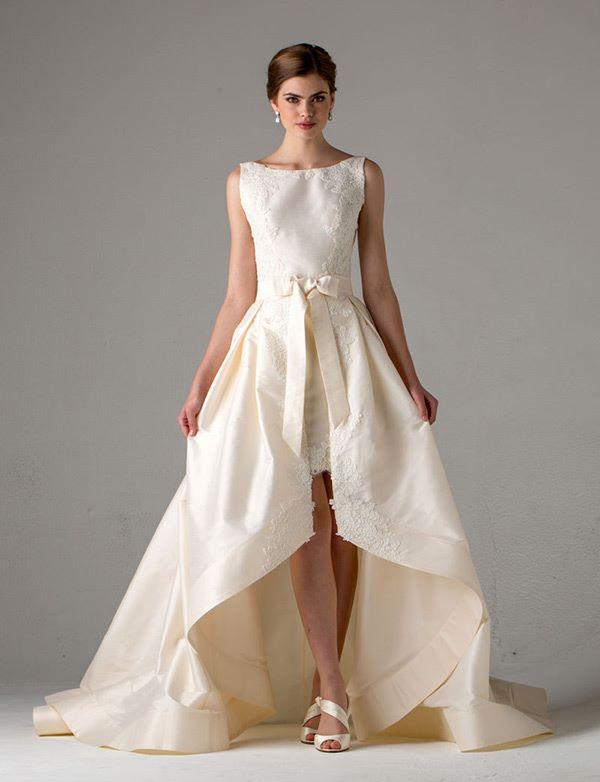 Свадебные платья хай-лоу 2015-2016 Anne Barge