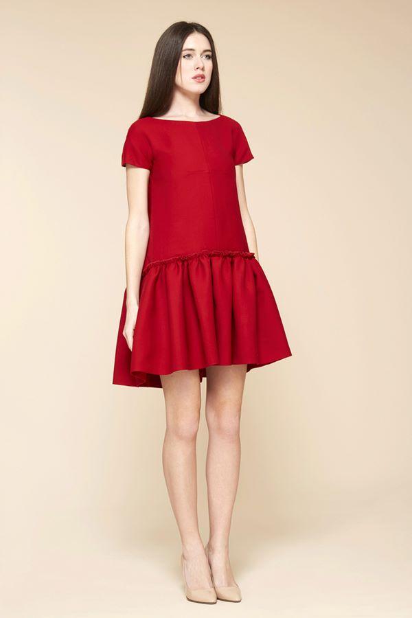 Коктейльные платья осень-зима 2015-2016  Cacharel