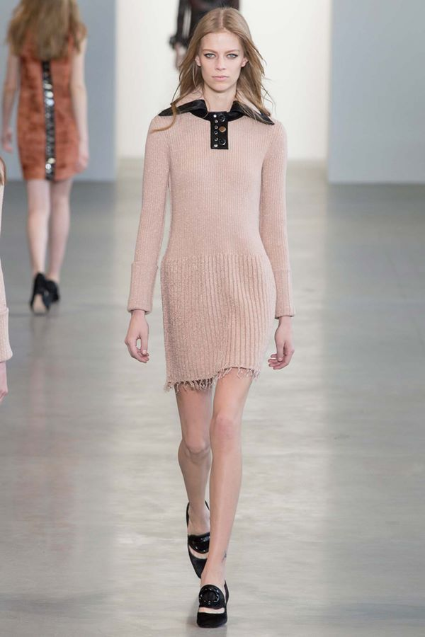 Трикотажные платья осень-зима 2015-2016 Calvin Klein Collection