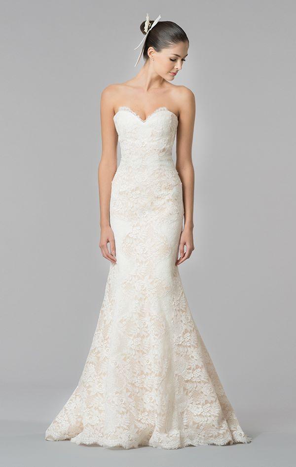 Кружевные свадебные платья 2015-2016 Carolina Herrera