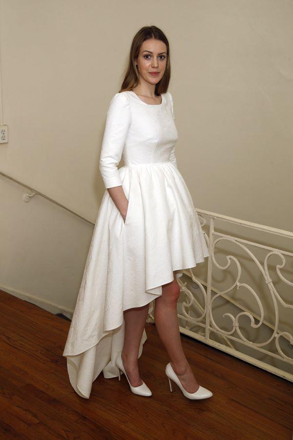 Свадебные платья хай-лоу 2015-2016 Delphine Manivet
