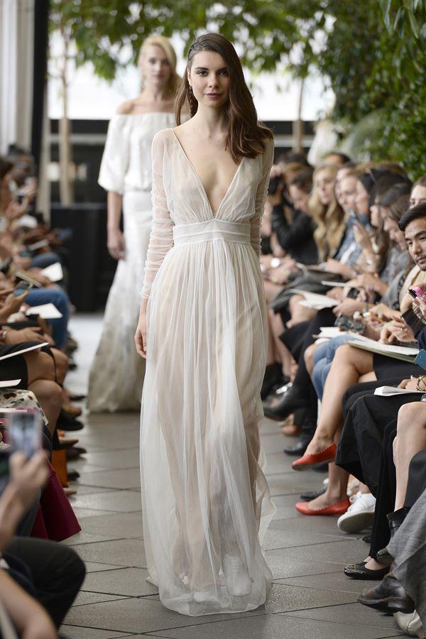 Свадебные платья с длинным рукавом 2015-2016 Delphine Manivet