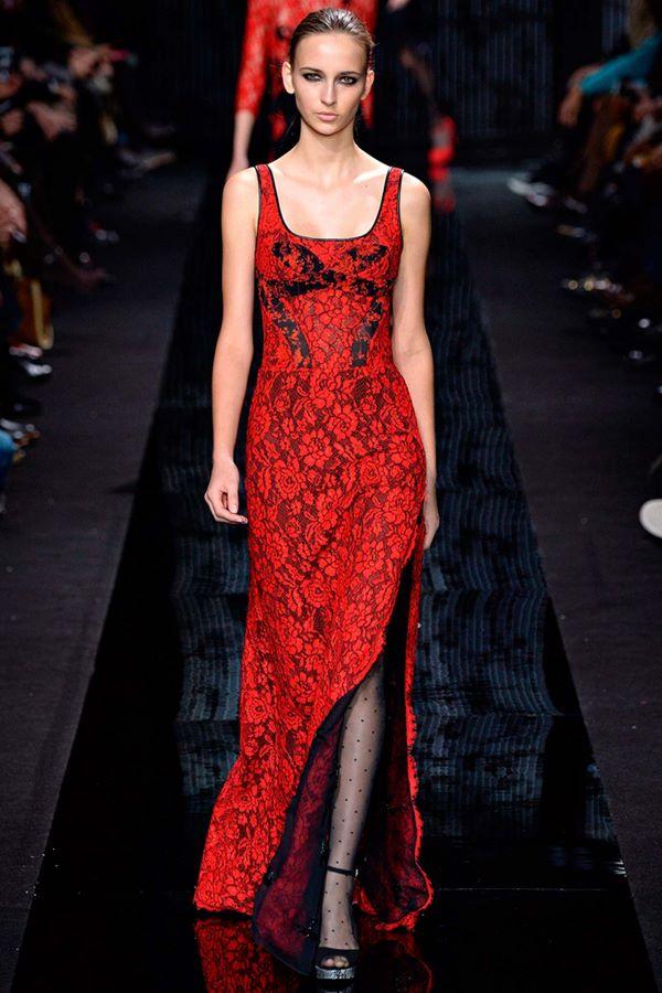 Кружевные платья осень-зима 2015-2016 Diane von Furstenberg