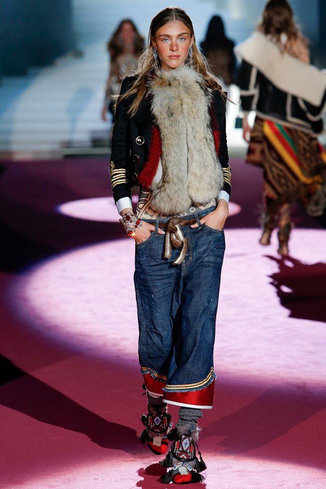 Модные джинсы осень-зима 2015-2016: Dsquared