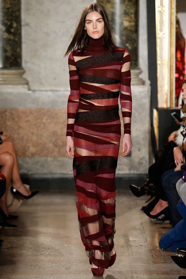 Облегающие платья осень-зима 2015-2016 Emilio Pucci