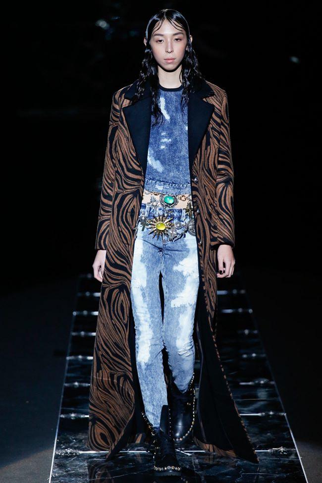 Модные джинсы осень-зима 2015-2016: Fausto Puglisi